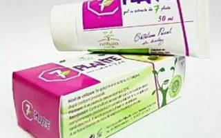 Crema vindeca noduli 7 plante